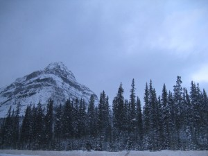 Outside Banff