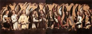 Memling's angel musicians, all of them.